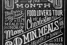 Typography / by Small Food Business