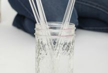 Glass Dharma Straws / by The Pint and a Half