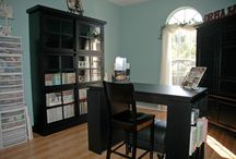 Dream Rooms - Crafty Areas / by Angie Allen