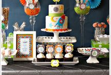 Celebrate: Party Ideas  / This board has party ideas for kids to adults.  / by Tabitha