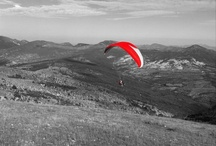 parapente / paragliding / by Pascal Mory