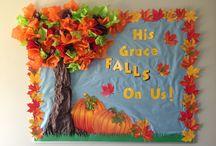 Fall bulletin boards / by Lauren Hatcher