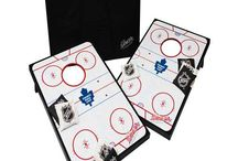 NHL Team Cornhole Tailgate Toss / We also have cornhole boards for your favorite NHL teams! / by Skip's Garage
