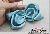 Bows for Emms / Bow tutorials / by Vanessa Velez