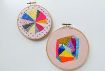 Embroidery and Cross Stitch Hoop Designs / by Carrie Dowden