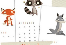 Calendars / {Cute calendars from around Blogland} / by BlogGuidebook