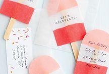 Invitations / by Heidi Ann Hammer Christoffersen