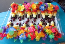 Silver anniversary luau party / by Joanne Melia