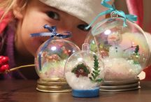 Christmas / Crafts and decorations / by Stephanie Mathison
