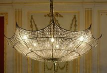 CHARMING CHANDELIERS / These  Are Magnificant Shine Down Your Light  / by SASSY SUSAN ROE