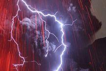 SPIRITIDELFUOCO♥ / I Quattro Elementi : FUOCO Vulcani Lava Fulmini Incendi Eruzioni Solari ..... ♥ / by laura