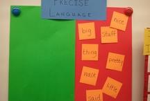 Vocabulary / by Panicked Teacher