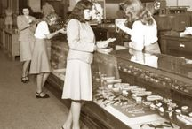 Fashion Department Stores / A look at some classic fashions from famous departments stores of the 20th century. / by Glamour Daze