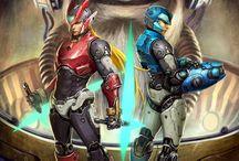 Video Games Heroes / by Quintan T Freeman