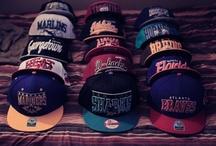 Snapbacks / Flatbill Snapback Hats / by Skinny Bones