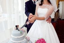 Retro Wedding / by The Overwhelmed Bride Blog
