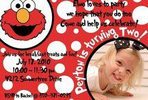 Elmo birthday party for my girl  / by Kathy Wilke Oaks
