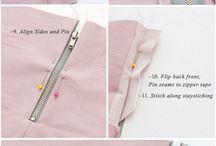 sewing hints / by Mary Gliniecki-Hoffman