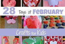 kids' crafts / by Molly Gann