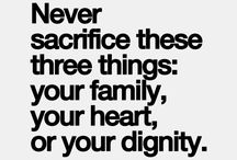Sacrifice / by 9 words to save your marriage