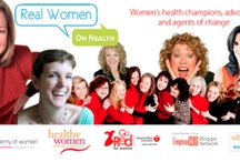 Real Women on Health / Health strategies and tips for us women, especially in  midlife... / by Kelley Connors