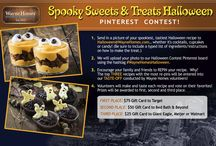 Wayne Homes Halloween Pinterest Contest / The spookiest sweets and treats will win big prizes if our judges choose your recipe.  We hope you play along to help us celebrate Halloween!  www.waynehomes.com   / by Wayne Homes