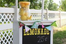 Lemonade Stand Ideas / by Emily