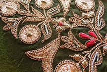 Zardozi embroidery / by Arati Ranadive