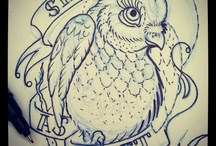 Tattoos, art, and sketches by me. / by Robert Jarrett