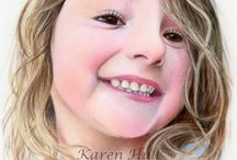 Colored Pencil Portraits / by Sammie Justesen