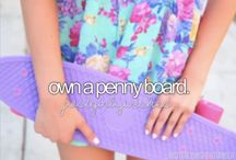 Penny Boards / by Maddie Thompson