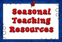 Seasonal Teaching Resources / Looking for teaching resources for special times of the year? Here you'll find holiday activities and other timely teaching resources for grades 2 through 6, and most of them are absolutely free!  / by Laura Candler
