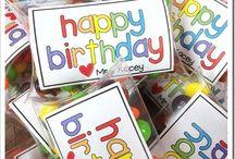 Birthday Ideas / by Deana Ford