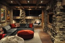 Cabin bunk room  / by Holly Bouslough