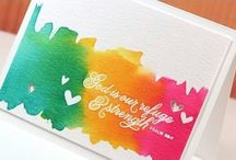Cards-Water Color & Doodles / by Leah Fox