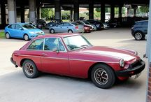 1979 Red MGB Car / 1979/80 Red MGB Car at the David Manners Group. See our MGB Parts on our website here: http://www.jagspares.co.uk/Abingdon/company.asp / by David Manners Group
