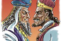 Bible:  United Kingdom / http://padfield.com/acrobat/booth/OT-Y2-Q2.pdf David & Goliath, Solomon / by Linda Zaveson