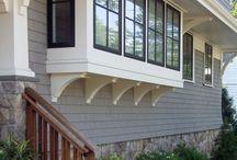 shingle siding 4 house / by Jennifer Scranton-Watson