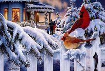winter scenes / by Jean Castle
