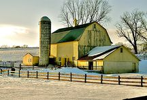 ⊰ Barns ⊱ / by ✿⊱╮Janice Caldwell