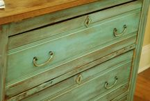 Painted Furniture and Finishes / by Ana Williams