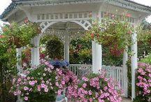 BACKYARD GAZEBO / Elegant Outdoor Spaces / by MaryAnne Rether