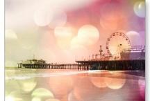 Santa Monica Pier Travel Souvenirs / Buy Santa Monica Pier travel souvenirs online and keep those happy memories :-) / by Christine aka stine1