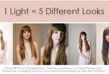 Tips and Tricks-lighting / Tips and tricks for photography lighting / by Debbie Niu Photography