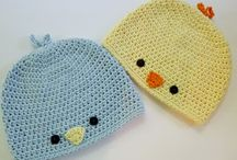 Crochet Baby Hats / by Robin L. Jack-Brown
