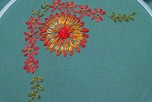 embroidery / by linda (burlap+blue)