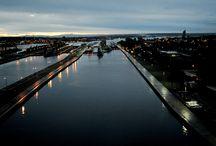 Soo Locks in Downtown Sault Ste. Marie, MI / by VisitTheSault