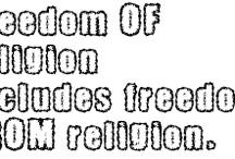 Faith, not religion / by J G