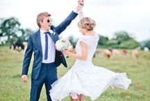 Our wedding day - we loved it! / DIY wedding - photos by the brilliant Shelldemar / by adesignforwife