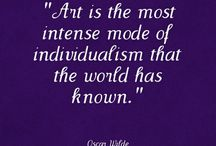 Art quotes / by Trish Nonaka